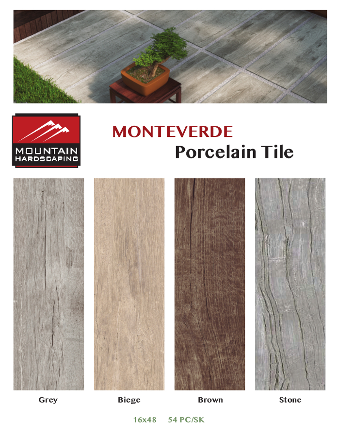 Outdoor Porcelain Tile